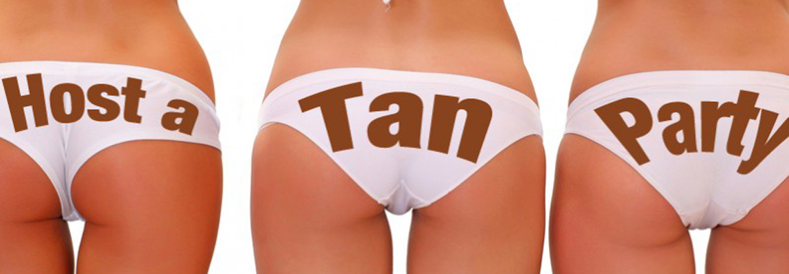 Book your spray tan party today!!